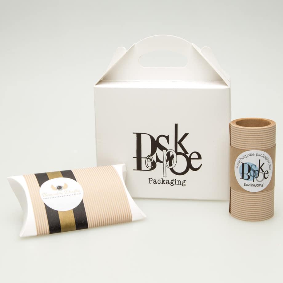 White branded Packaging