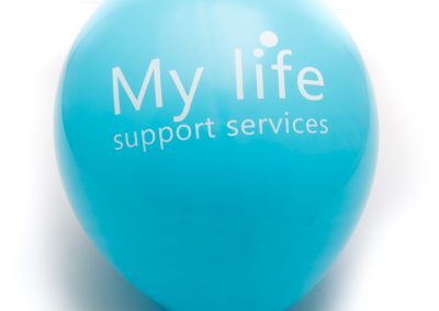 Custom printed logo balloon