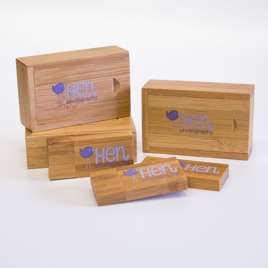 Colour printed USB's and packaging