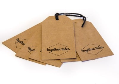custom printed kraft tags