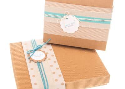 kraft box, banding wrap, twine