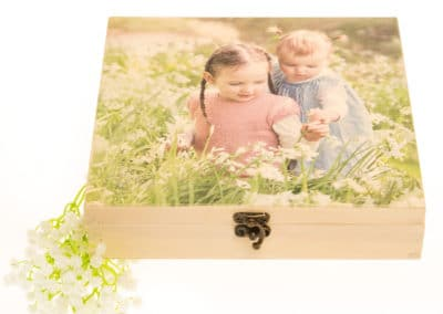 colour printed box, photobox, photo box,