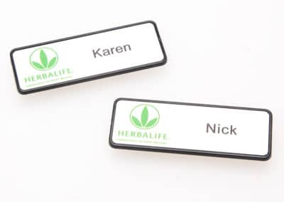 name badge, company badge