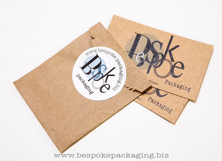 Mini paper bag to fit your business card