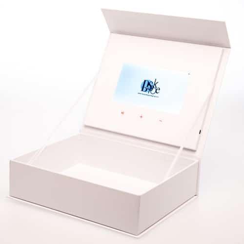 video screen packaging box