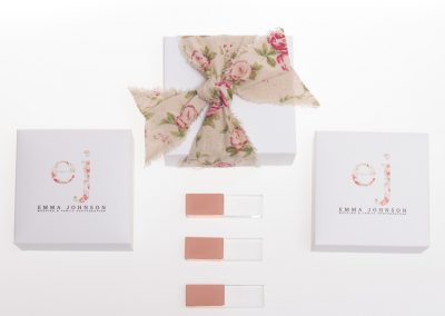 Rose Gold USB and printed gift presentationbox