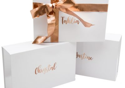 Custom printed gift box