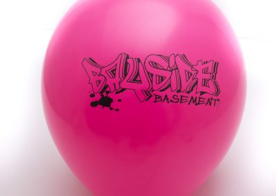 Custom printed latex balloon